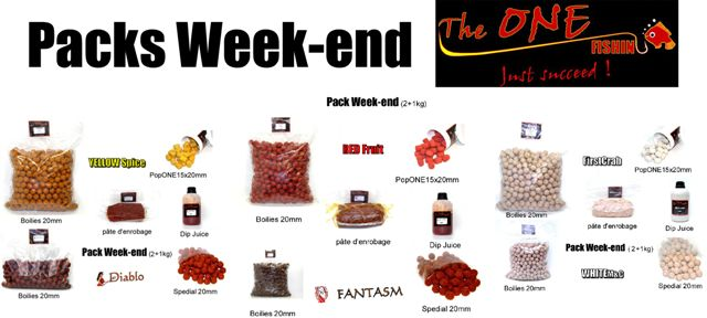 Pack week-end The ONE